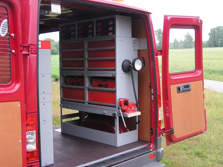 Montagefahrzeug - Innenausbau