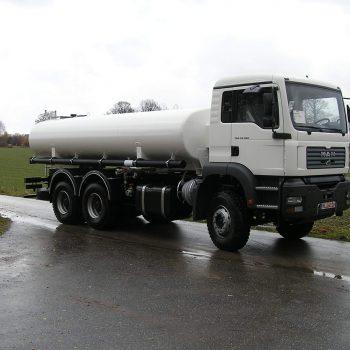 Kraftstofftankfahrzeug