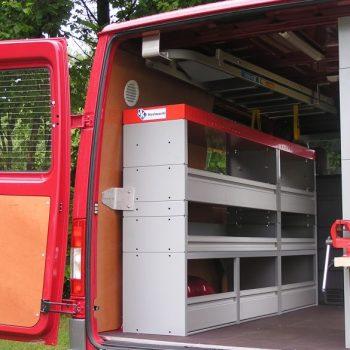 Werkstattwagenausrüstung für MB-Transporter