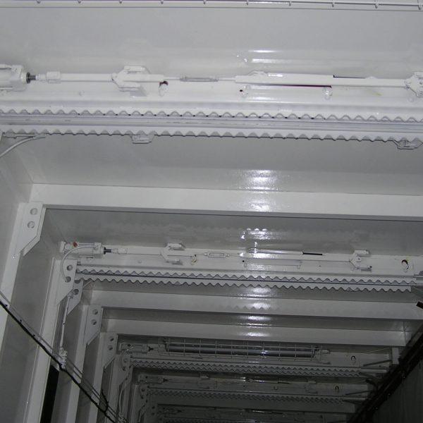 pneumatische Deckenverriegelung für hängende Bauteile2